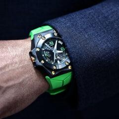 montre-Linde-Werdelin-Oktopus-Double-Date-Carbon-Green